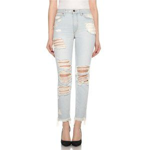 Joe's Jeans NEW Debbie High Rise Straight Ankle 25